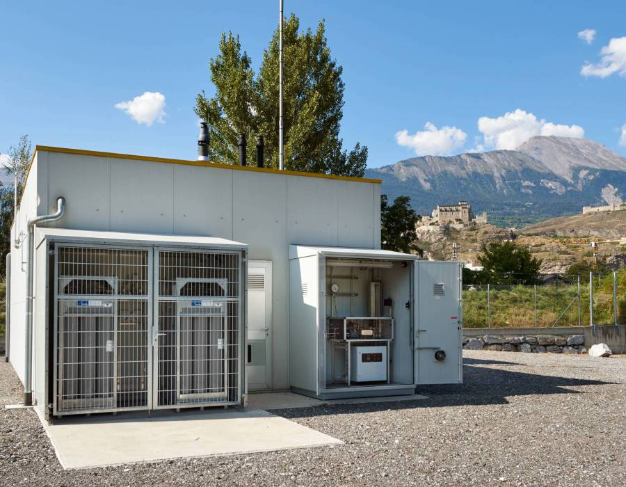Installation Power To Gas (PtG) à Sion